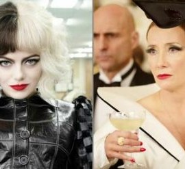 "Emma Sotone e Emma Thompson in ""Crudelia"""