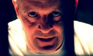 """Anthony Hopkins è l'ex psichiatra Hannibal Lecter in """"Il silenzio degli innocenti"""", che divorava i suoi pazienti."""